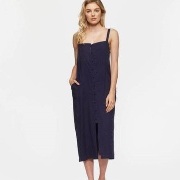 2580502c9d TAVIK TARA MIDI DRESS in Evening Blue
